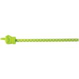 Lime Polka Dots Hand Pointer