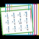 Dry Erase Pockets (5 Colors)