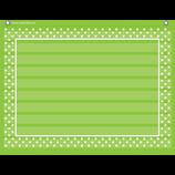 Lime Polka Dots Mini Pocket Chart