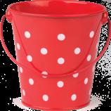 Red Polka Dots Bucket