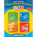 Year Round Project-Based Activities for STEM PreK-K