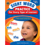 Sight Word Practice for Every Type of Learner Grade K-1