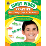 Sight Word Practice for Every Type of Learner Grade 1-2