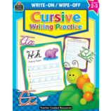 Cursive Writing Practice Wipe-Off Book