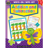 Addition and Subtraction Wipe-Off Book