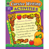 Cursive Writing Activities