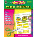 Dr. Fry's Word Sorts: Working with Onsets and Rimes
