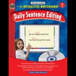 Interactive Learning: Daily Sentence Editing Grade 1