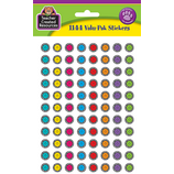 Zebra Happy Faces Mini Stickers Valu-Pak