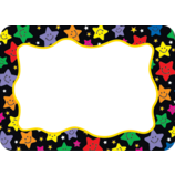 Happy Stars Name Tags/Labels