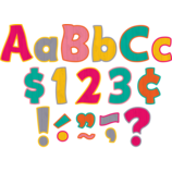"""Tropical Punch Funtastic 4"""" Letters Combo Pack"""