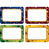 Stellar Space Name Tags/Labels Multi-Pack