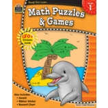 Ready-Set-Learn: Math Puzzles and Games Grade 1