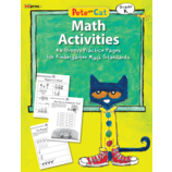 Pete the Cat Math Workbook Grade K
