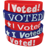 I Voted! Wristbands