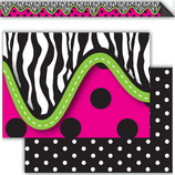 Zebra Double-Sided Border