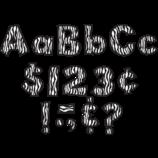 "Zebra 4"" Fun Font Letters"