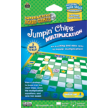 Jumpin Chips Computer Game: Multiplication
