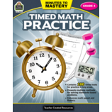 Minutes to Mastery - Timed Math Practice Grade 4