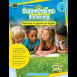 Summertime Learning Grade 2 - Spanish Directions