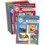 Nonfiction Reading Comprehension Set: Soc Studies (6 books)