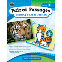 Paired Passages: Linking Fact to Fiction Grade 1