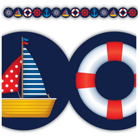Nautical Die Cut Border Trim
