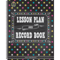 Chalkboard Brights Lesson Plan and Record Book