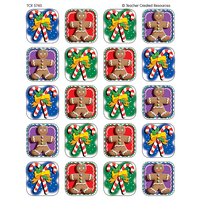 Candy Canes/Gingerbread Stickers