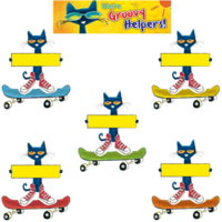 Pete the Cat Groovy Classroom Jobs Mini Bulletin Board