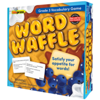 Word Waffle Game Grade 3