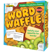 Word Waffle Game Grade 4