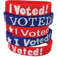 I Voted! Wristbands
