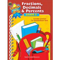 Fractions, Decimals & Percents Grade 5