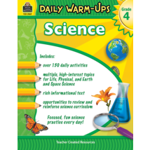 TCR3969 Daily Warm-Ups: Science Grade 4