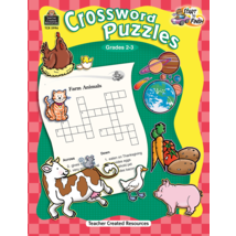 TCR5996 Start to Finish: Crossword Puzzles Grade 2-3