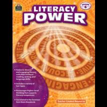 TCR8380 Literacy Power Grade 6