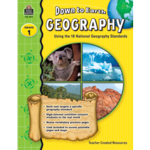 TCR9271 Down to Earth Geography, Grade 1