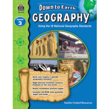 TCR9273 Down to Earth Geography, Grade 3