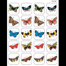 Moths & Butterflies Stickers