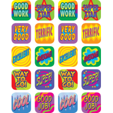 Good Work Stickers