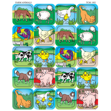 Farm Animals Stickers
