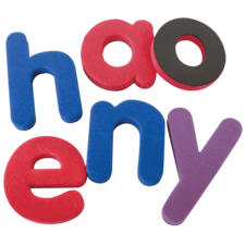 Magnetic Foam Lowercase Letters
