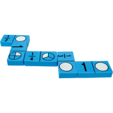Foam Fraction Dominoes