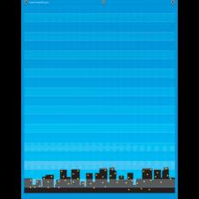 Superhero 10 Pocket Chart
