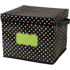 Chalkboard Brights Storage Box