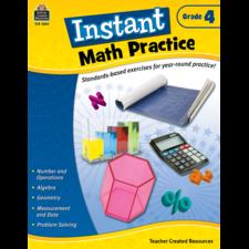 Instant Math Practice Grade 4