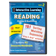 Interactive Learning: Reading Fiction & Nonfiction Grade 2