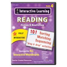 Interactive Learning: Reading Fiction & Nonfiction Grade 4