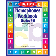 Homophones Workbook by Dr. Fry